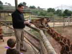 Get up close with the animals at TerraNatura, just 25 mins away