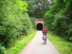 Eifel-Mosel bike trail between Daun and Bernkastel - Eifel-Moselradweg zwischen Daun und Bernkastel