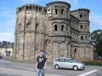 Oldest city in Germany - the Porta Nigra in Trier - die Porta Nigra in Trier