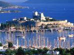 It's a 20-minute drive to Bodrum, a chic, charming and busy town for shopping and sightseeing.