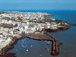 Helicopter view of Puerto Del Carmen