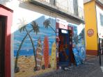 Old Town Painted Doors at your doorstep, a year round outdoor gallery with over 200 works