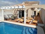 Casa Sirena with private pool and enclosed garden in quiet location