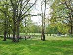 The park opposite Park View