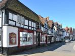 The historical streets of Midhurst