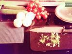 Particolare tavolo cucina