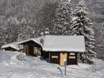 Winter Wonderland right on the ski piste