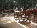 Studio terrace