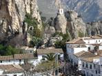 Guadalest one of the many tourist attractions in the area
