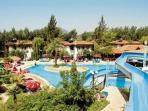 The nearby 4* Orka Hotel, free use of all facilities, swimming pools, slides, etc