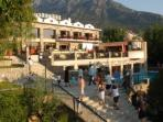 The nearby 4* Orka Hotel with free use of restaurants & bars (excluding food & drink)