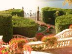 Villa Carlotta Gardens at Cadenabbia.