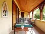 The Terrace - ideal for that sundowner!