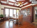Dining Room accomodates large groups