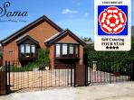 Visit Britain 4 star rated 4 Bedroom Bungalow
