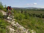 The lodge is a just 4 minute ride from Dalbeattie Forest 7Stanes mountain bike trail