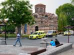Old Nessebar town has ancient buildings, great shops, restaurants and markets.