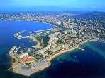 Aerial View of Palm Beach, Cannes