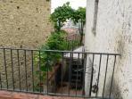 Terrazzino di una camera da letto - terrace outside bedroom 1