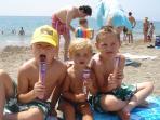 Menton beach
