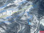 Le piste più vicine a casa, raggiungibili con gli sci ai piedi