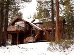 Big Pine Tree Lodge First Snow