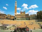 Enjoy Siena's old city