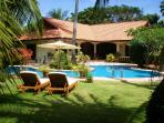 Fabulous Coconut Bay Villa viewed from The Beautiful Pool and Gardens