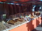 Nearby market