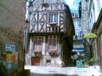 Old quarter in Clamecy