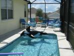 Pool & extended deck
