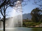 Fountain in Paloma Park