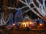 Leavenworth has the light on all winter long and only a short drive!