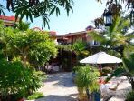 Garden Courtyard - Hacienda de Palmas