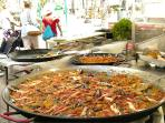 Weekly Markets with delicious foods and crafts