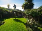 Delightful sea view garden with Dovecote