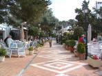 Cala Dor Town Centre Restaurants & Cafes
