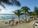 The beach Trou aux Biches