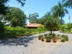 Casita mit tropischen Garten