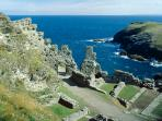 Historic and Beautiful Cornwall - Tintagel Castle