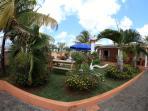 the aera 250 m2 and the villa 250 m2