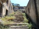 The old leper colony at Spinalonga.