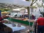 Lezay Market - a good way to spend Tuesday morning