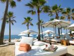 Famous Nikki beach club, only 10 minutes away by taxi or local bus