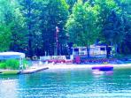 Waterfront Lake Charlevoix with 3 Boats,Dock,Decks