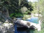 Pou Clar - Local Natural Spa for swimming &  having a picnic