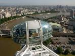 Nearby attraction: London Eye