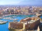 Heraklion city