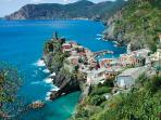 Cinque Terre (only 75 minutes away)