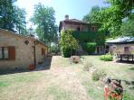 entrance , villa and dependance august